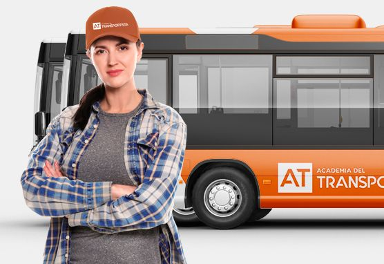 carnet de autobus permiso d - academia del transportista