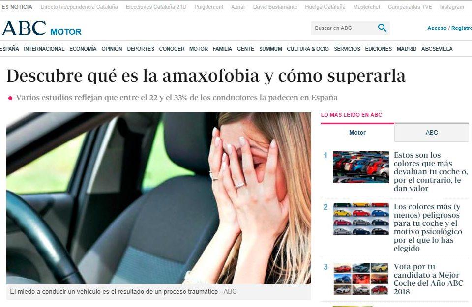 Amaxofobia - Academia del Transportista