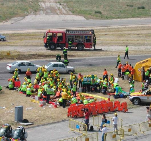 curso atencion sanitaria a multiples victimas y catastrofes - academia del transportista
