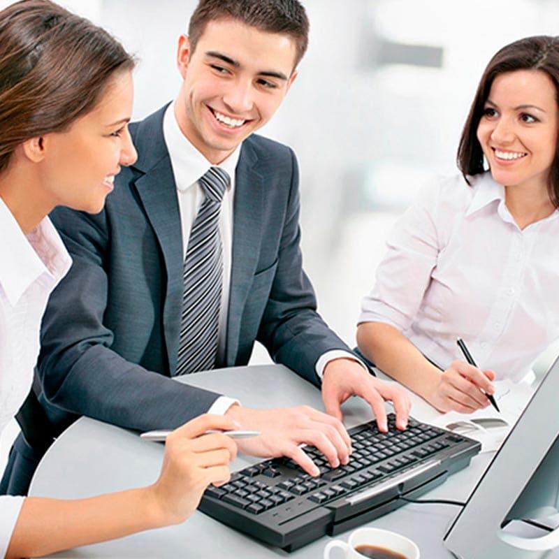 Gestión administrativa de la agencia comercial