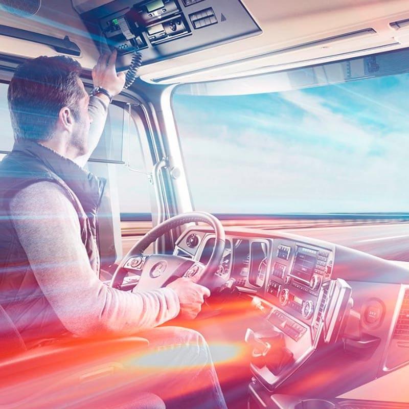 Prevención de riesgos laborales del conductor profesional