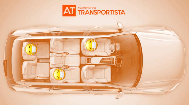 ejemplo de ocupacion en vehiculo de 7 plazas - academia del transportista