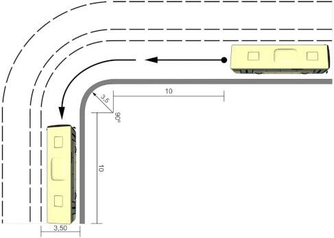 Maniobra Carnet D Autobus - Marcha Atras