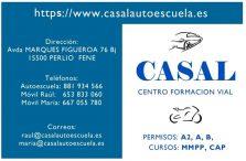 CENTRO DE FORMACIÓN VIAL CASAL - Autoescuela - Fene