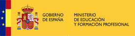 logo ministerio educación, fp - academia del transportista